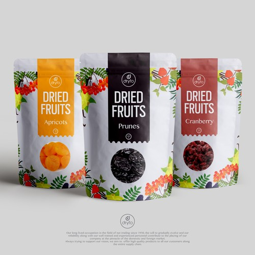 Kavosh Sanat - Dried fruits packaging