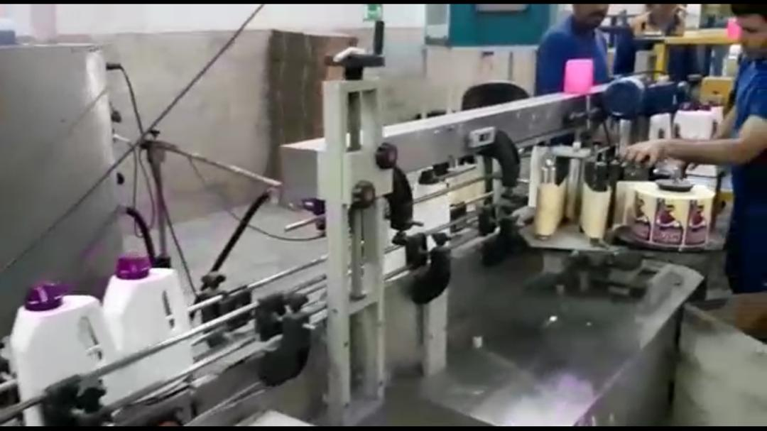 Kavosh Sanat - can filler machine
