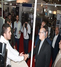 Kavosh Sanat - (The visit of Industry minister of 23rd International Exhibition of Food, Food Technology and Agriculture (Iran Agrofood 2016