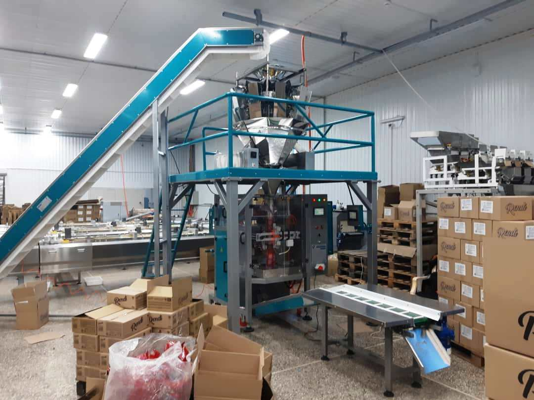 Kavosh Sanat - chocolate packaging line