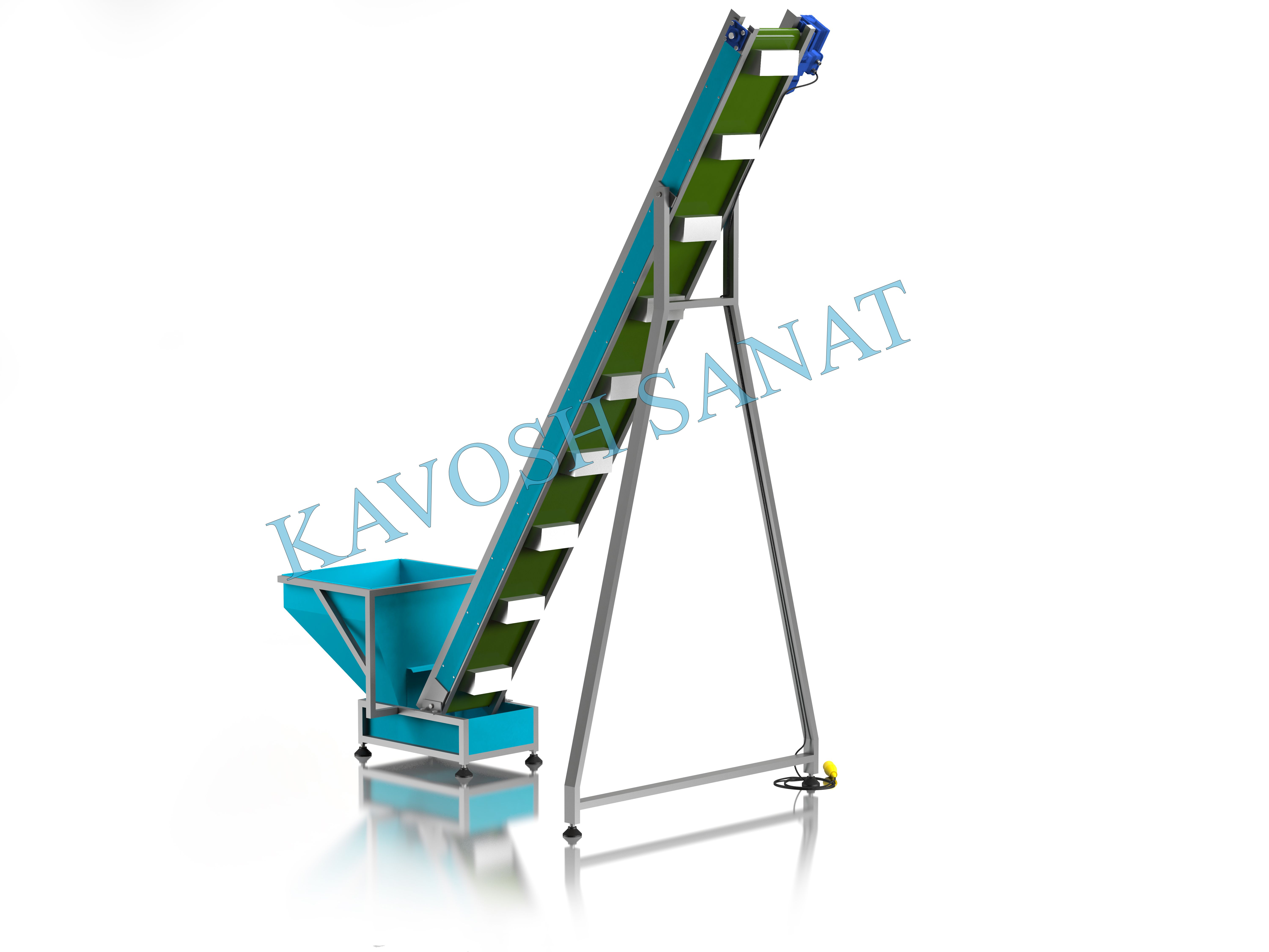 Kavosh Sanat - Cupule conveyor Machine