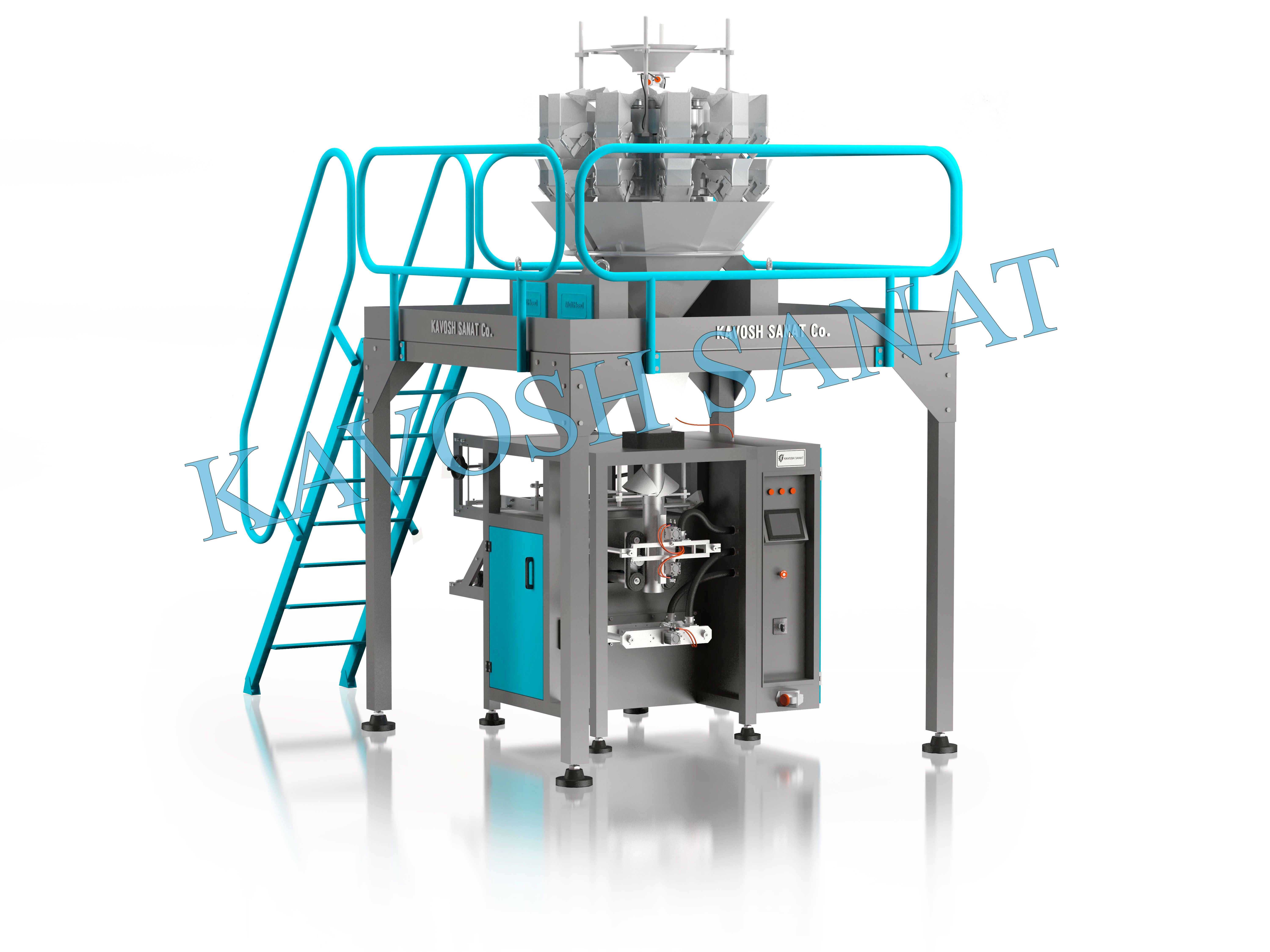 Kavosh Sanat - Multi head packaging machine ,10 head
