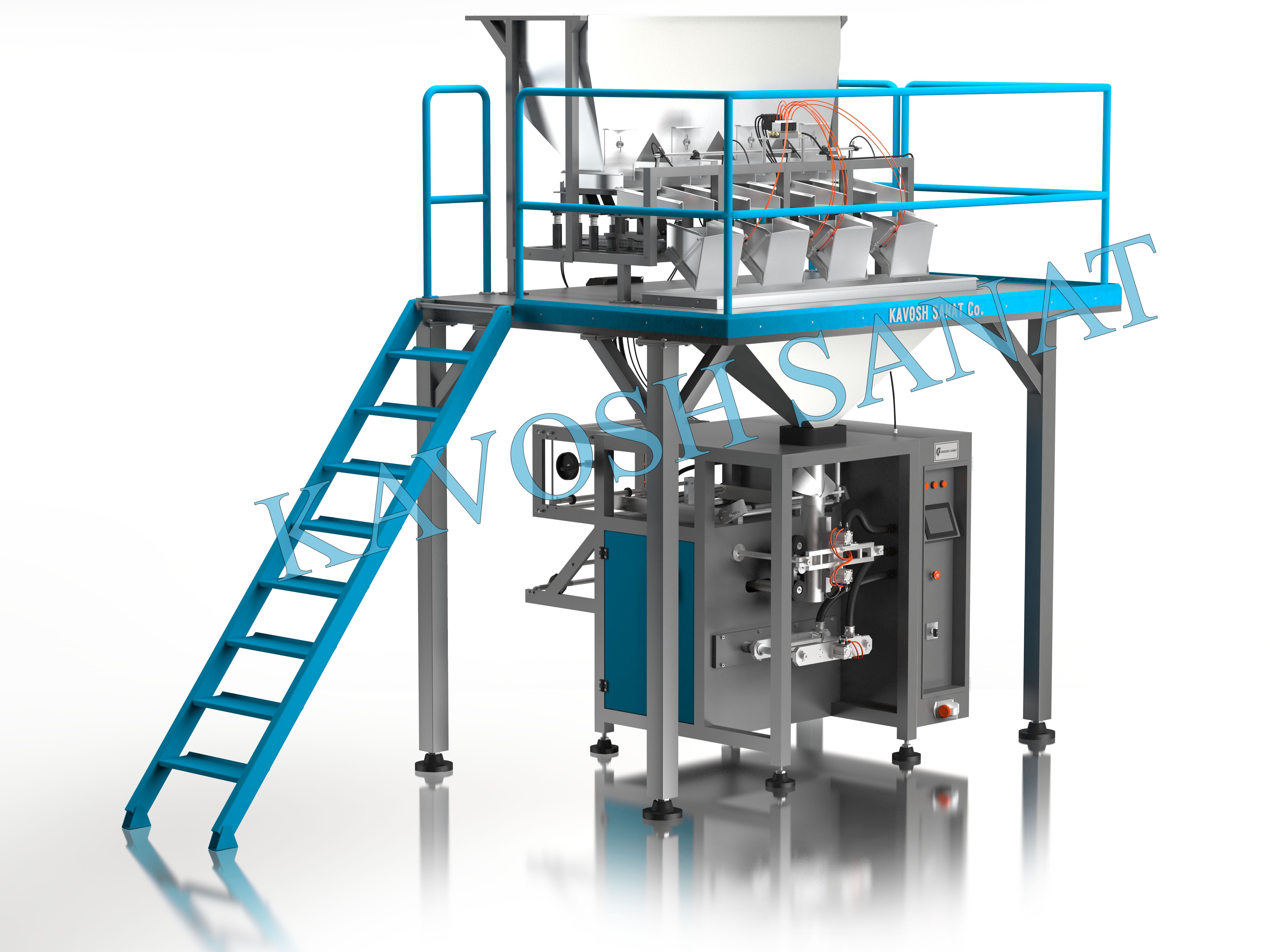Kavosh Sanat - Cereal packaging machine