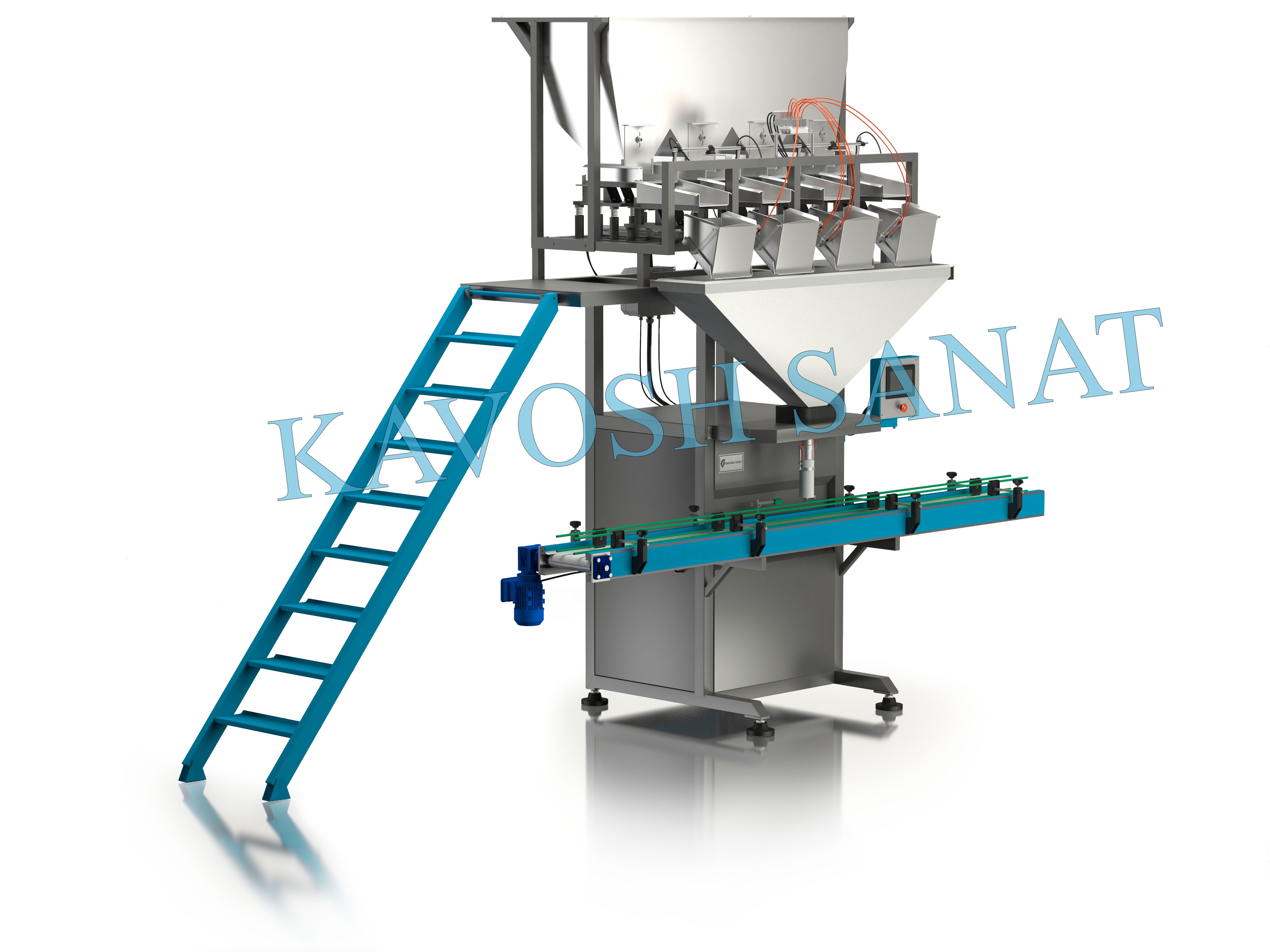 Kavosh Sanat - Granule can filler machine