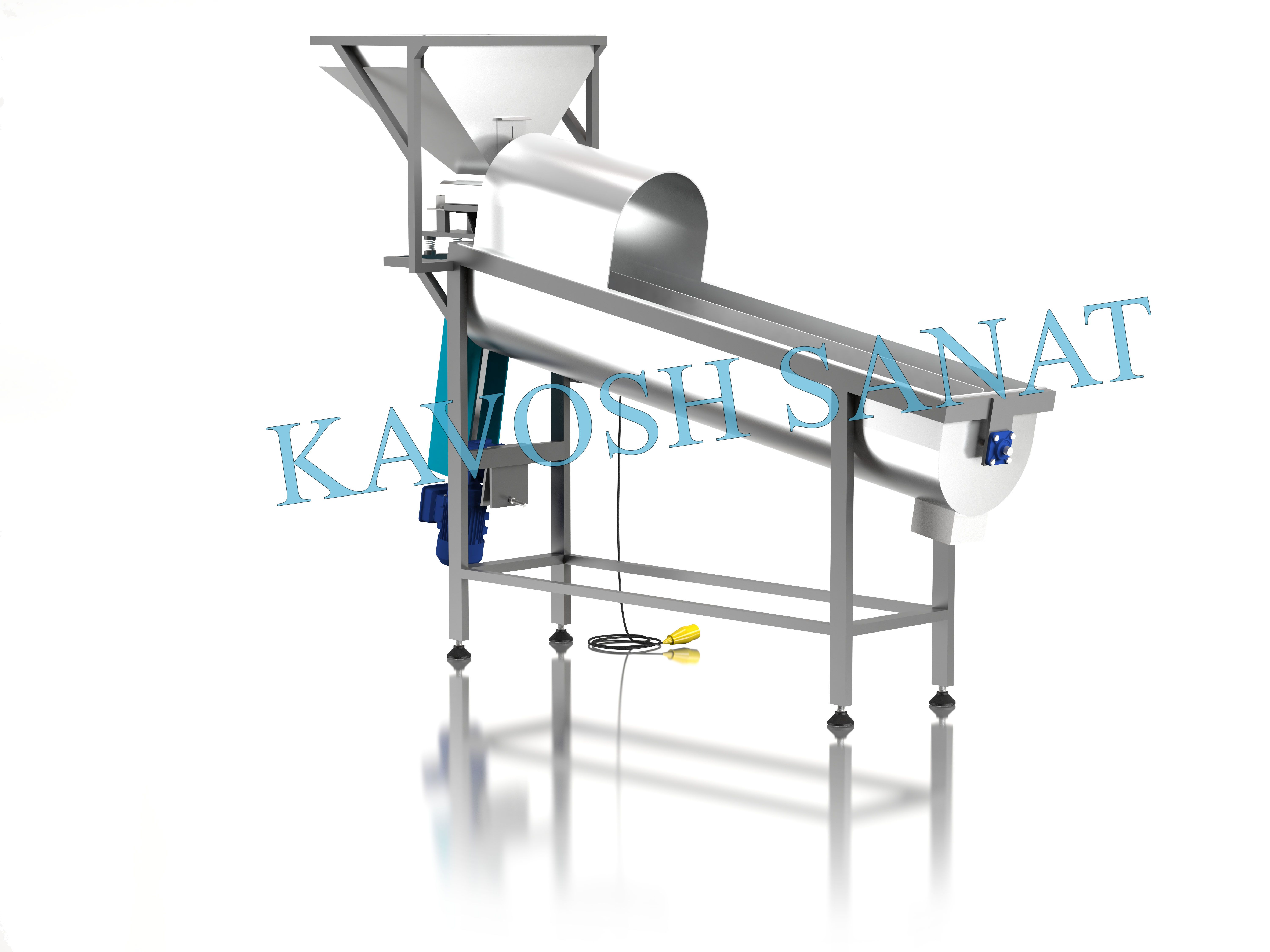Kavosh Sanat - Cereal polishing Machine