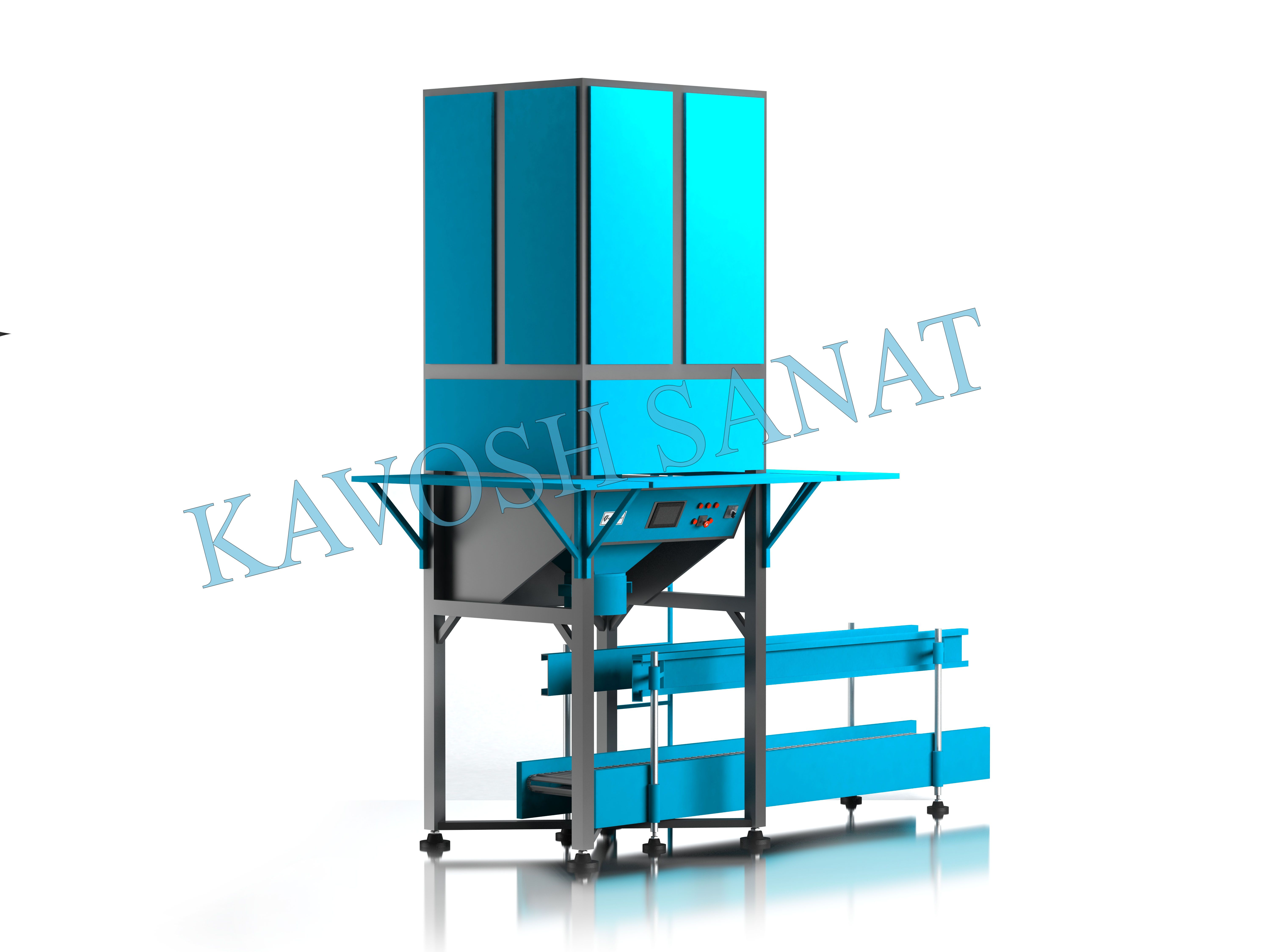 Kavosh Sanat - powder bag filling machine
