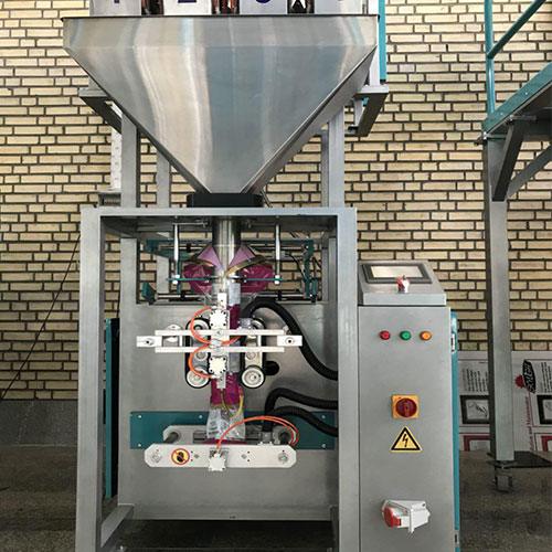 Kavosh Sanat - Vertical Packing Machine,4 weigher